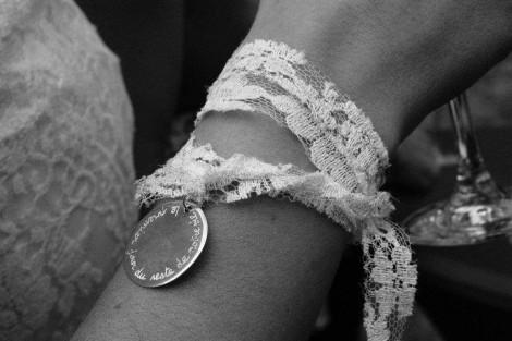 Bracelet dentelle