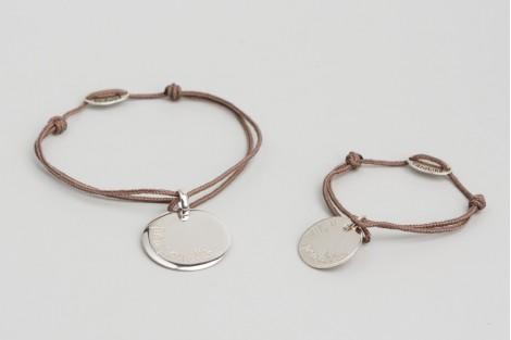 Bracelet duo ronde