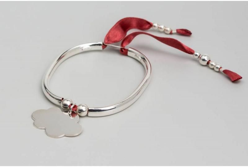 Bracelet Clémentine + nuage 2.7cm