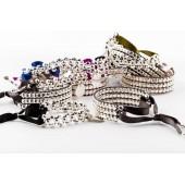 Bracelet gravé personnalisé mademoiselle avec médaille en argent