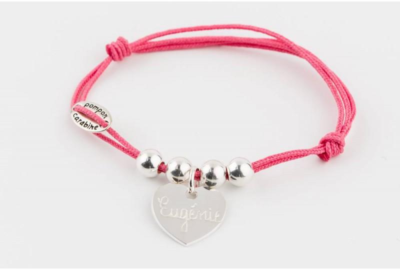 bracelet personnalisé collection mon trésor à graver