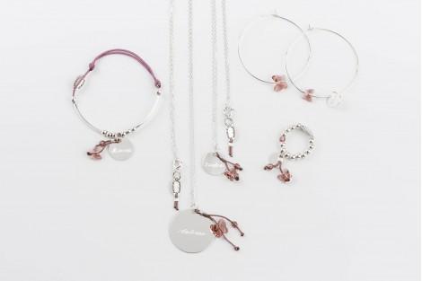 Voltige, bracelet papillon cristal shade