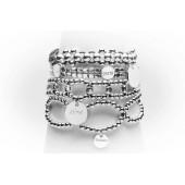 Bracelets Dentelle  en argent à graver