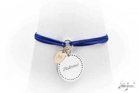 Bracelet Bonheur argent GM Pompon Carabine