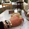 Bracelet Caravelle personnalisé gravé avec médaille