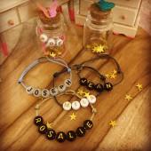 Bracelet lettres
