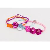 Bracelet sur lien de nylon nacre petit modèle