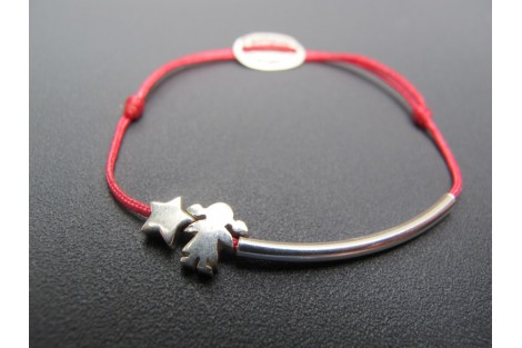 Bracelet en argent Margot*