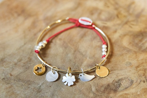 Bracelets joncs à Graver