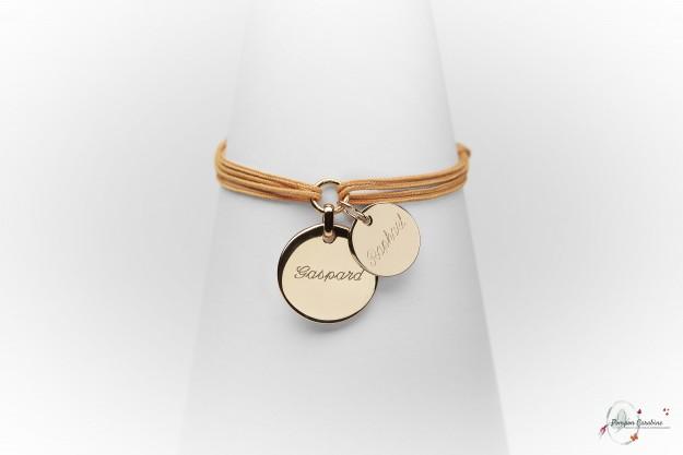 Caravelle - Colliers et Bracelets avec médailles à graver