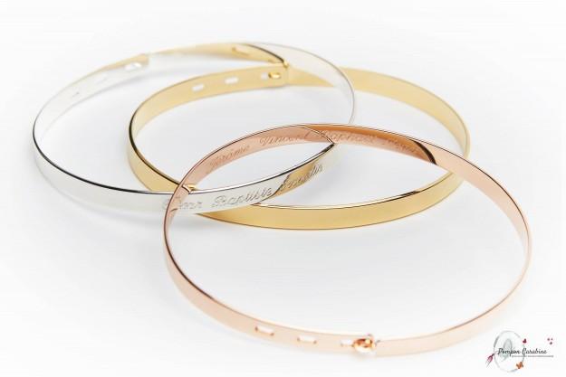 Joncs Ruban - Bracelets à personnalliser