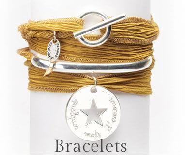 Bracelets personnalisés gravés